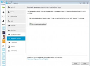 Skype Disable Auto Updates