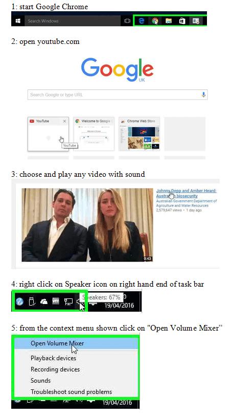 FixGoogleChromeNoSound