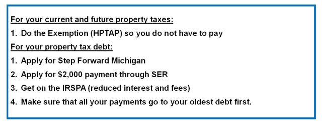 Agencies for Property Tax Assistance | CLEARCorps/Detroit