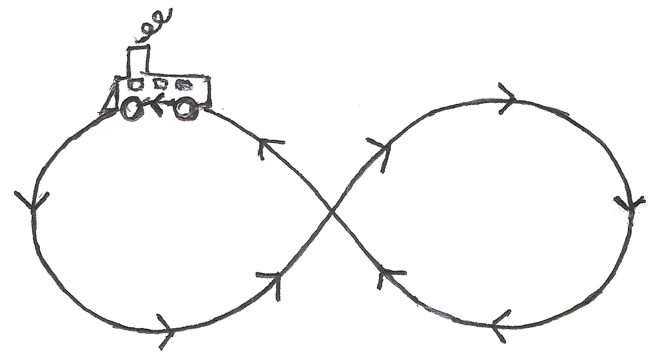 The Figure Eight Infinity Swing