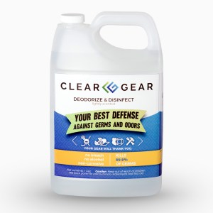 1 Gal Bottle | Sports Odor Eliminator Spray - Clear Gear