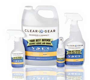 Clear Gear Disinfect and Deodorize Spray