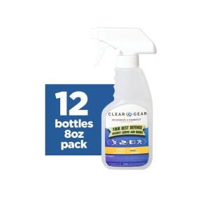 8 oz Bottle Case | Sports Odor Eliminator Spray - Clear Gear