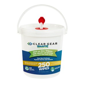 Clear Gear Dry Wipes 250