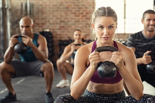 fitness center antibacterial spray