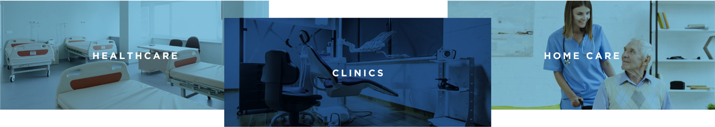 healthcare clinics and medical facilities