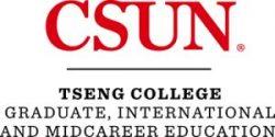 CSUN/Tseng College Logo
