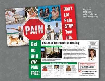 EDDM mailer for chiropractor