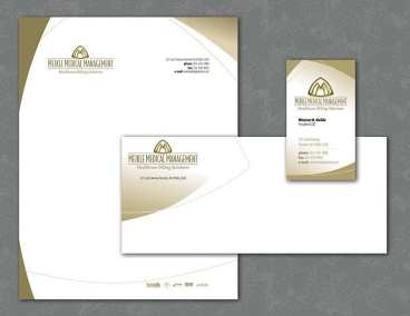 Logo design and stationery for medical billing company
