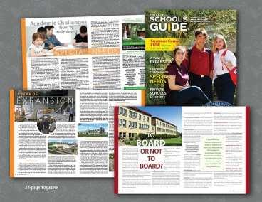Private Schools Guide Design