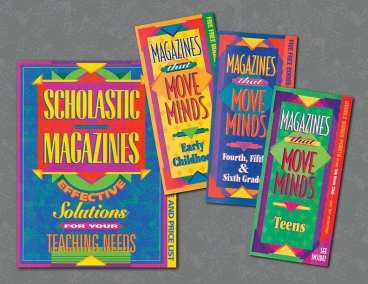 Scholastic Magazines direct mailers