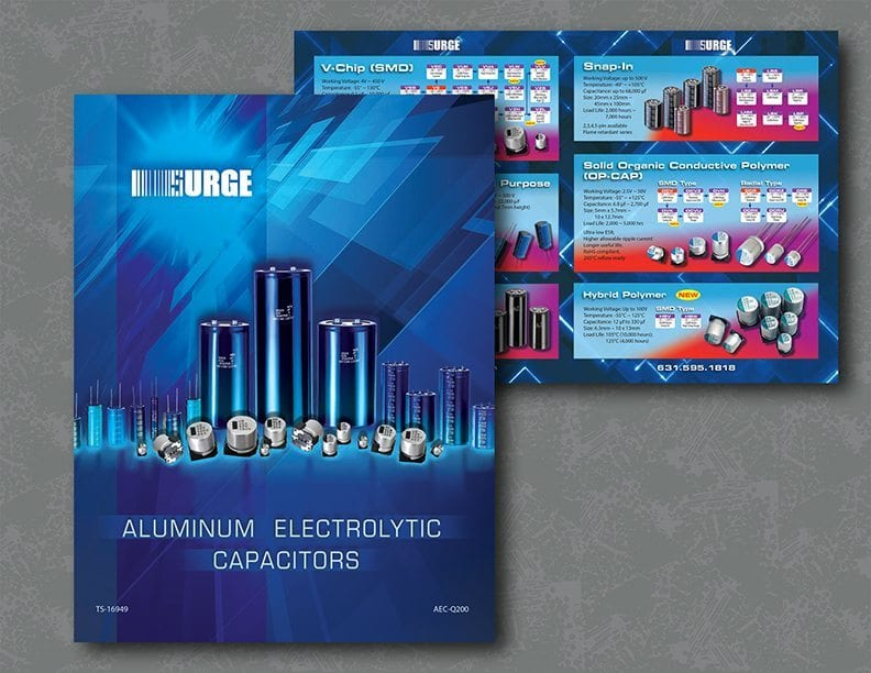Product brochure for Surge Electronics