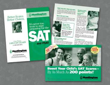 Huntington Learning Center SAT Prep Promotional Piece