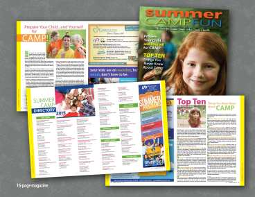 Summer Camp Fun Magazine