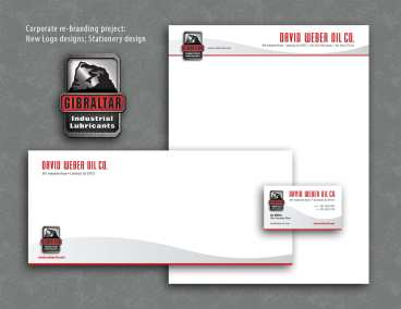 Weber Oil Stationery
