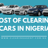 Cost of Clearing Cars in Nigeria 2019