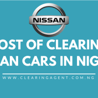 Cost of Clearing Nissan Cars in Nigeria 2020