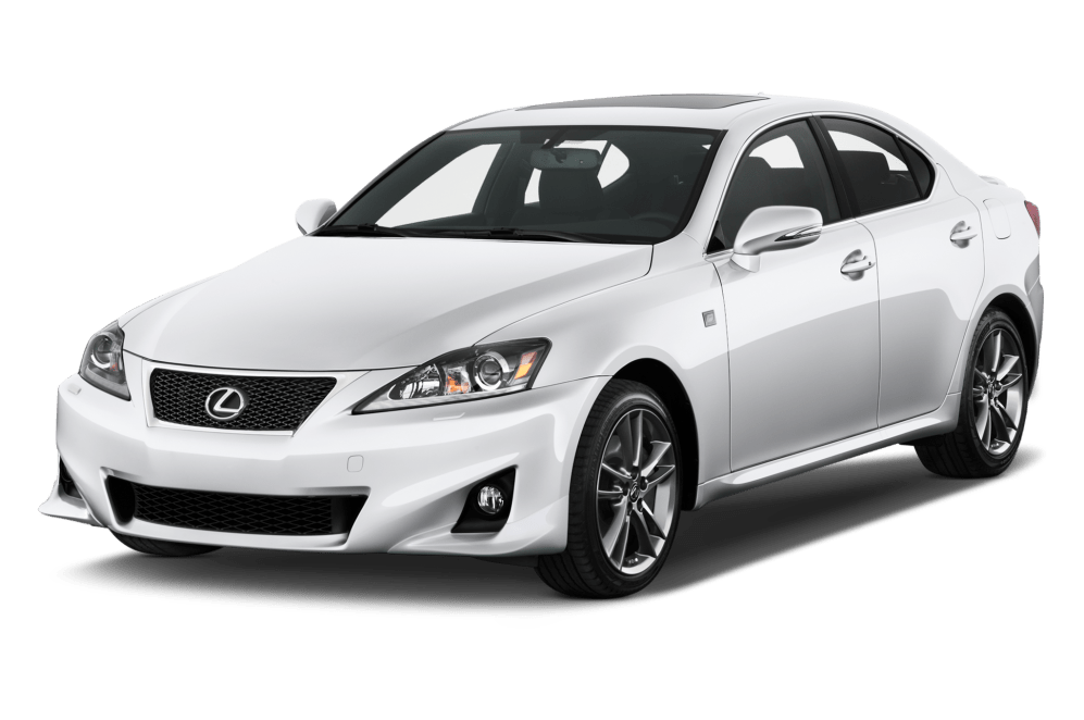 Cost of clearing Lexus IS 350 cars
