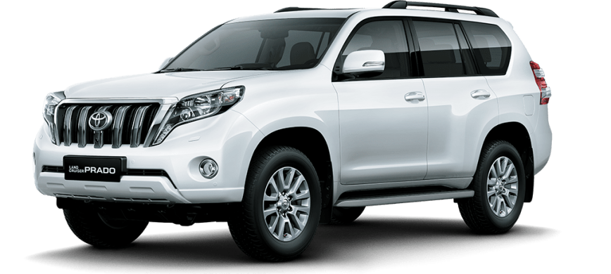 Cost of clearing Toyota Prado