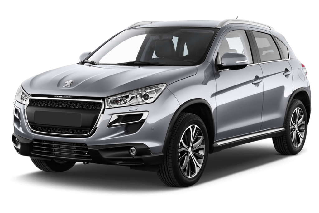 Cost of Clearing Peugeot 4008 Cars