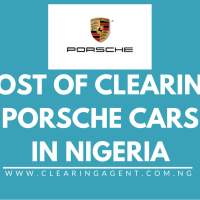 Cost of Clearing Porsche Cars in Nigeria 2020