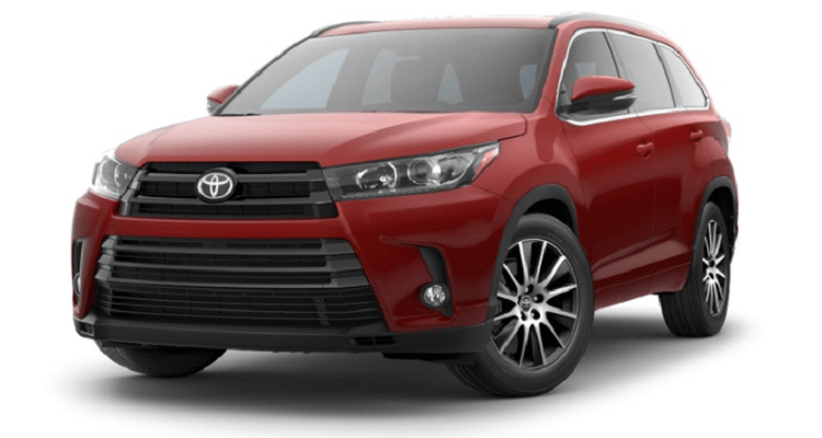 2018 Toyota Highlander Specifications