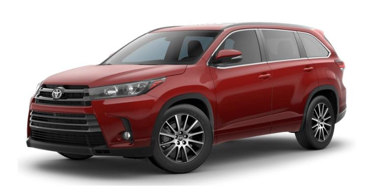 2018 Toyota Highlander front