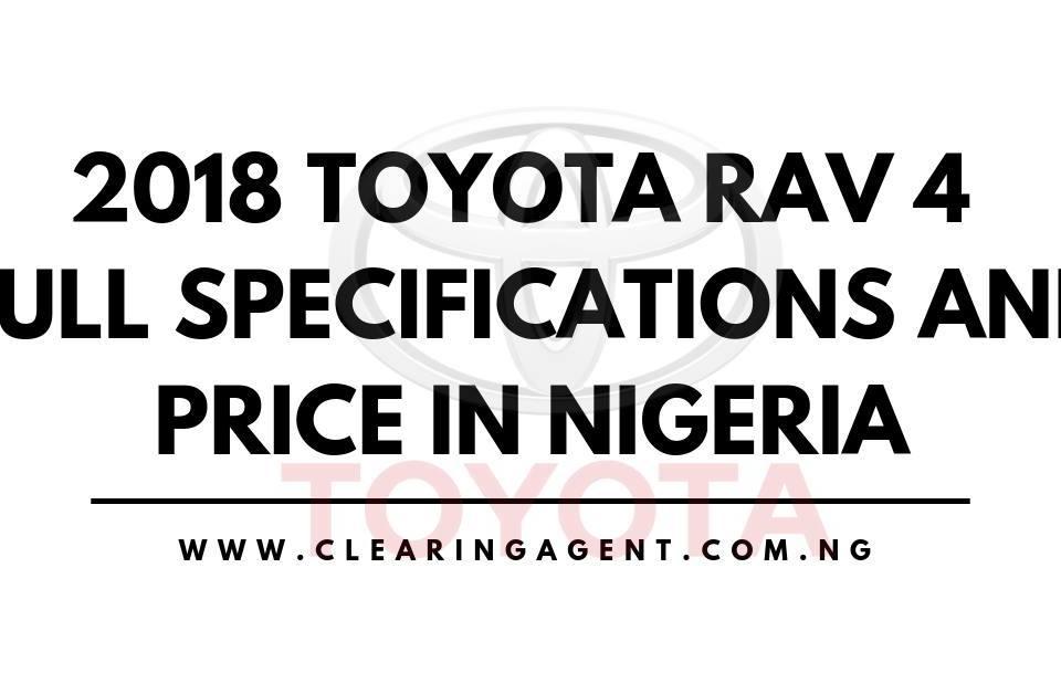 2018 Toyota Rav 4