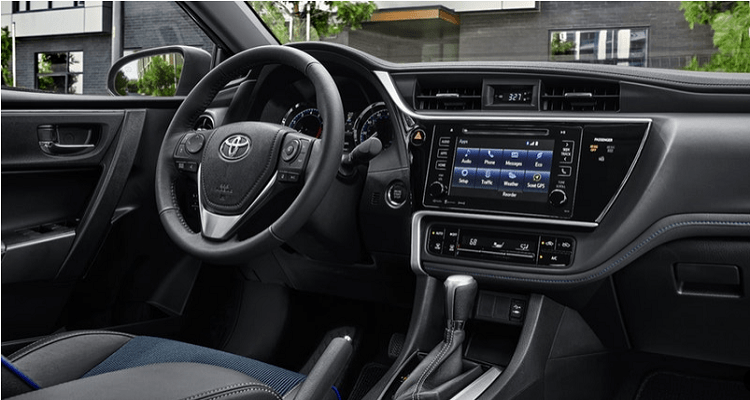 2019 Toyota Corolla Stylish interior