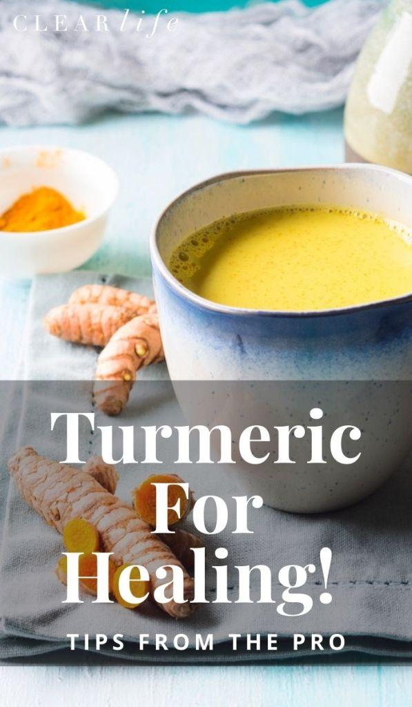 Tumeric Milk Recipe For Healing