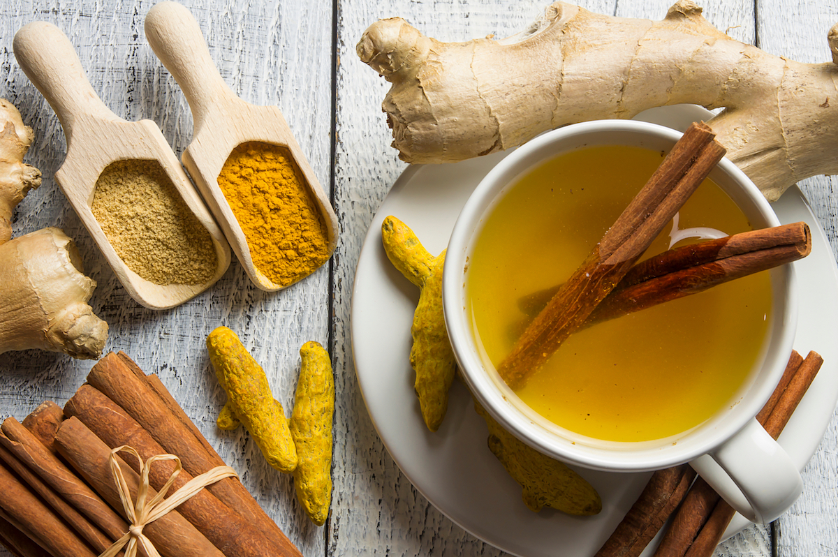 herbal teas for healing with turmeric