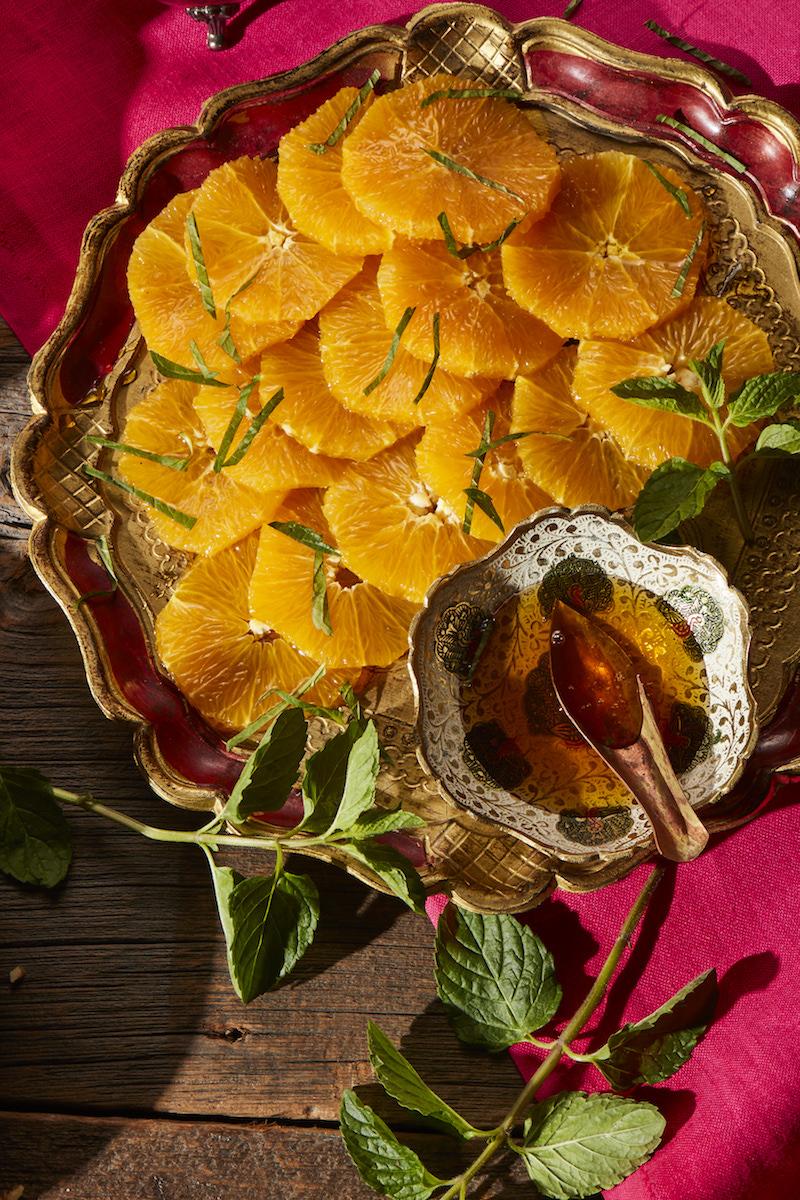 Orange tapas