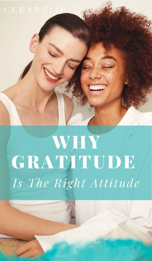 Gratitude is key!