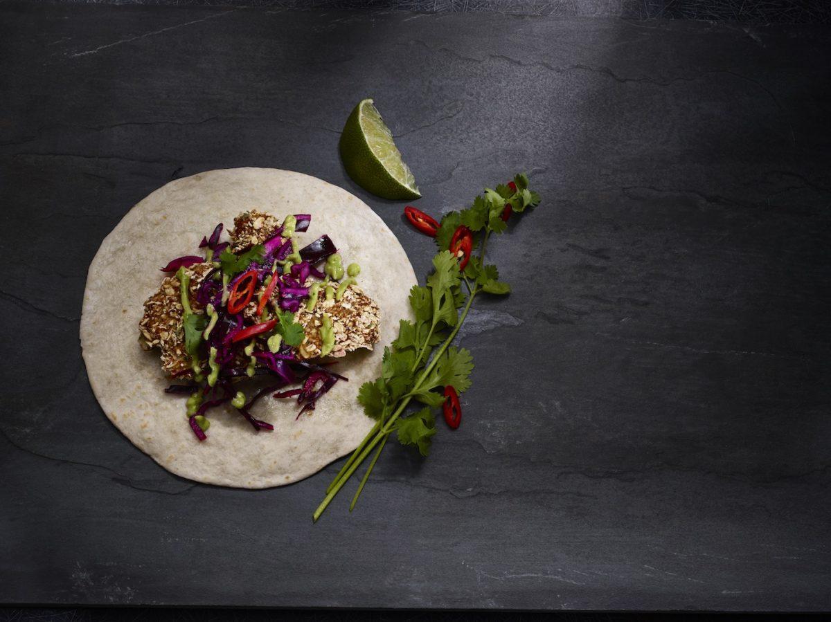 Crispy Cauliflower Tacos With Slaw & Avocados