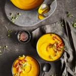ginger maple carrot soup