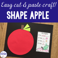 Apple Shape Craft