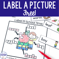 Label a Picture Free