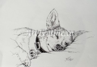 Sleeping (private collection)