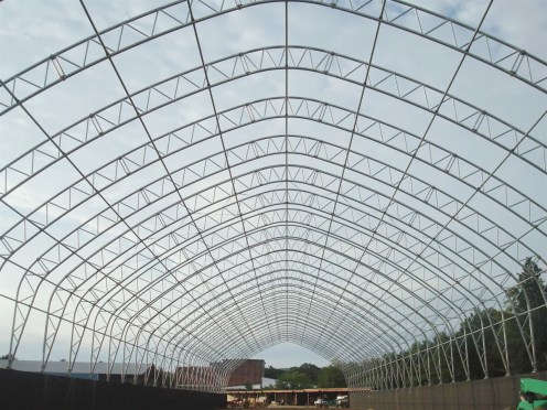 ClearSpan Building Frame