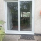 Upvc double glazed patio sliding door fitted in Romford by Clearview Improvements