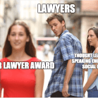 """The """"Other Girl"""" Meme Applied to Law Firms"""