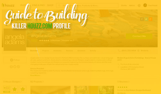 Houzz Ebook How to Build Killer Profile pt 3