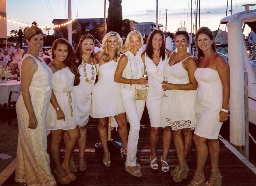 Annual White Party Clearwater Yacht Club