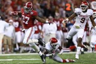 Alabama Running back Derrick Henry.