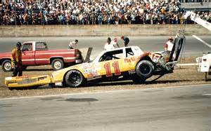 Darrell Waltrip crash at Daytona in 1983.