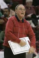 Santa Clara Head Coach Dick Davey.
