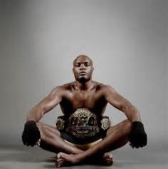 UFC Fighter Anderson Silva.