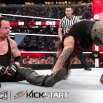 The Undertaker is not impressed by Bray's flexibility