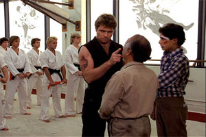 Kids, you might not know The Karate Kid, but your parents do.