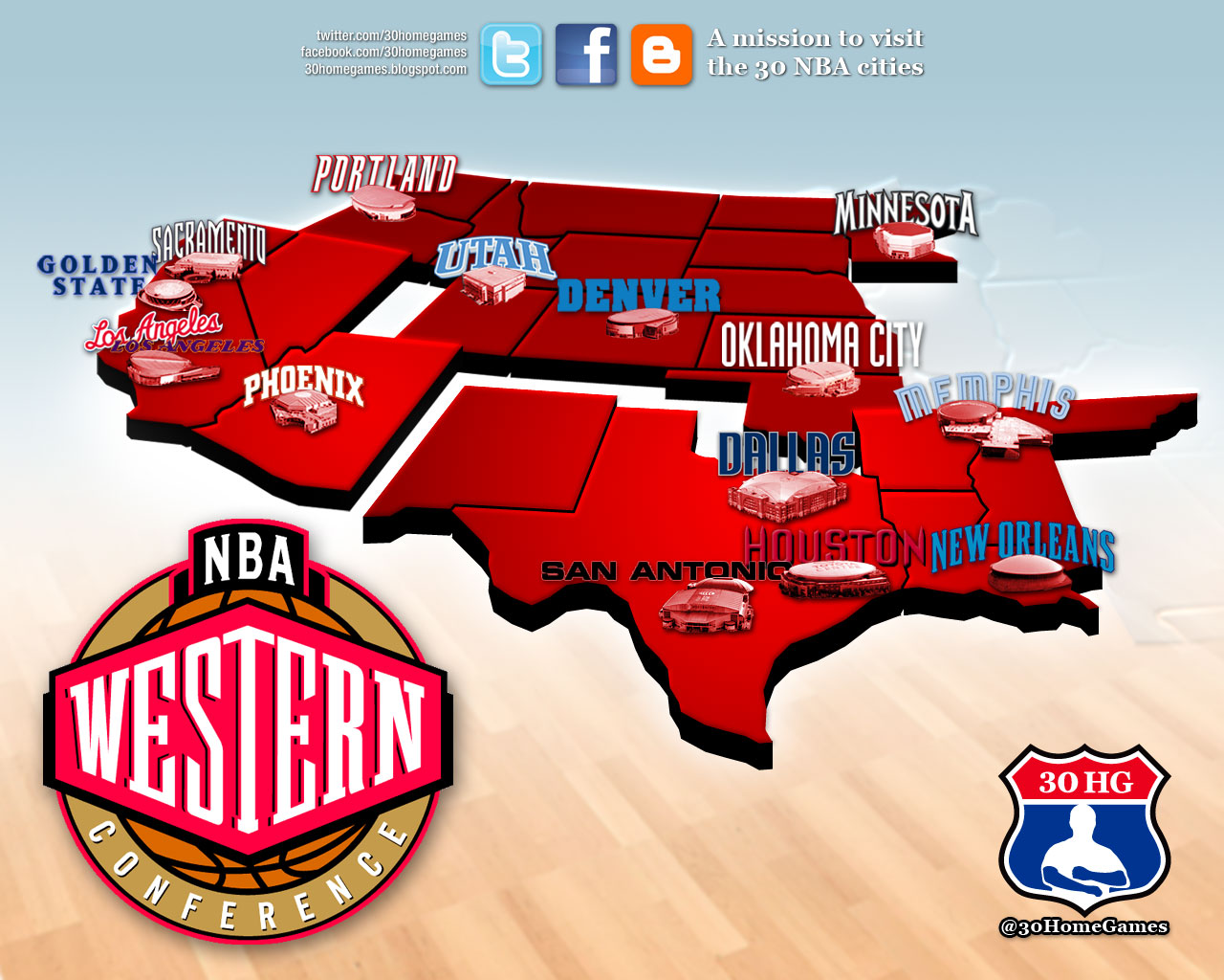 Image result for nba western conference teams